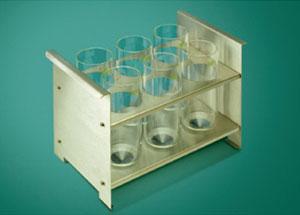 玻璃容器台灯6本挂|柴田科技有限公司-环境检测设备、科学仪器的制造销售