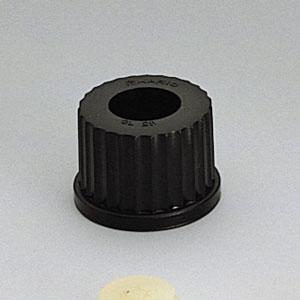 ねじ口キャップ 穴付 センサー用(オートクレーブ可能)