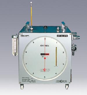 湿式ガスメーター マノメーター1kPa付