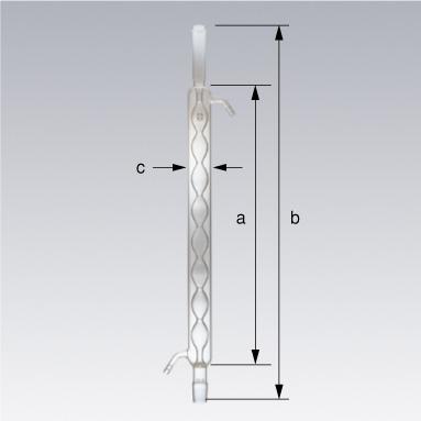 ディーンスターク抽出装置用 SPC冷却器 アリン(球管)