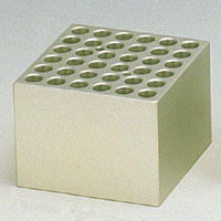 BI-1200、BI-2203、DBH-1000用アルミブロック  φ12mm用