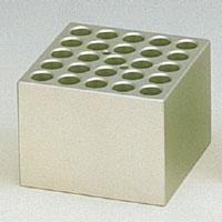 BI-1200、BI-2203、DBH-1000用アルミブロック φ15mm用