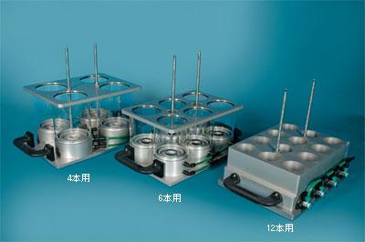 6根用水晶机架分析师类型(玻璃)没有|柴田科技有限公司-环境检测设备、科学仪器的制造销售