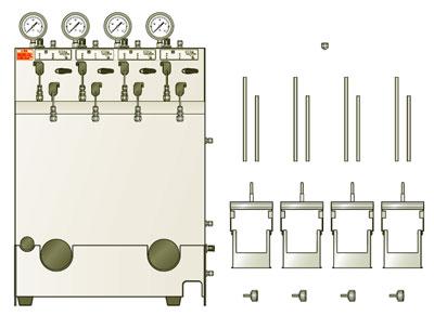 合成·反应装置ケミスト广场CPP - 2000系列用加压单元|柴田科技有限公司-环境检测设备、科学仪器的制造销售