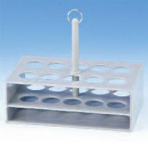 液体捕集器具用 スタンド10本用 バブラー、ミゼットインピンジャー用