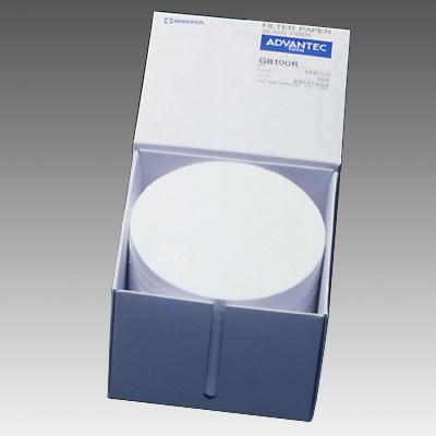 ガラス繊維フィルター φ110mm GB-100R-110A型 100枚入