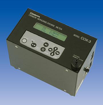 CO/CO<sub>2</sub>メータ COX-3型