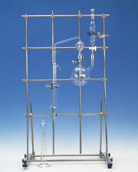 シアンイオン蒸留装置 ガラス部のみ