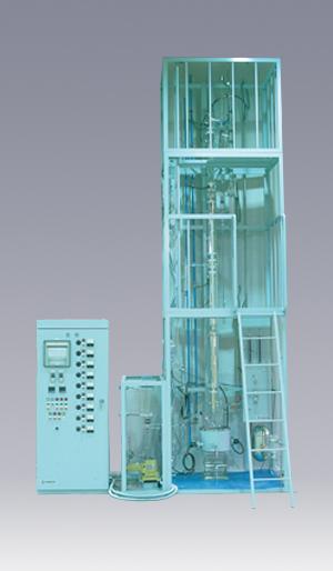連続式オルダーショウ型蒸留装置 HO-C-500型