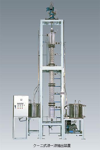 クーニ式液一液抽出装置 EX-K型