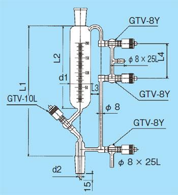 共通すり合わせウィッドマー分留受器