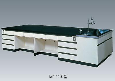 中央実験台 CKFシリーズ(側面流し台付)