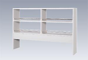 実験台用試薬棚  (両面2段棚タイプ)  NSRC型