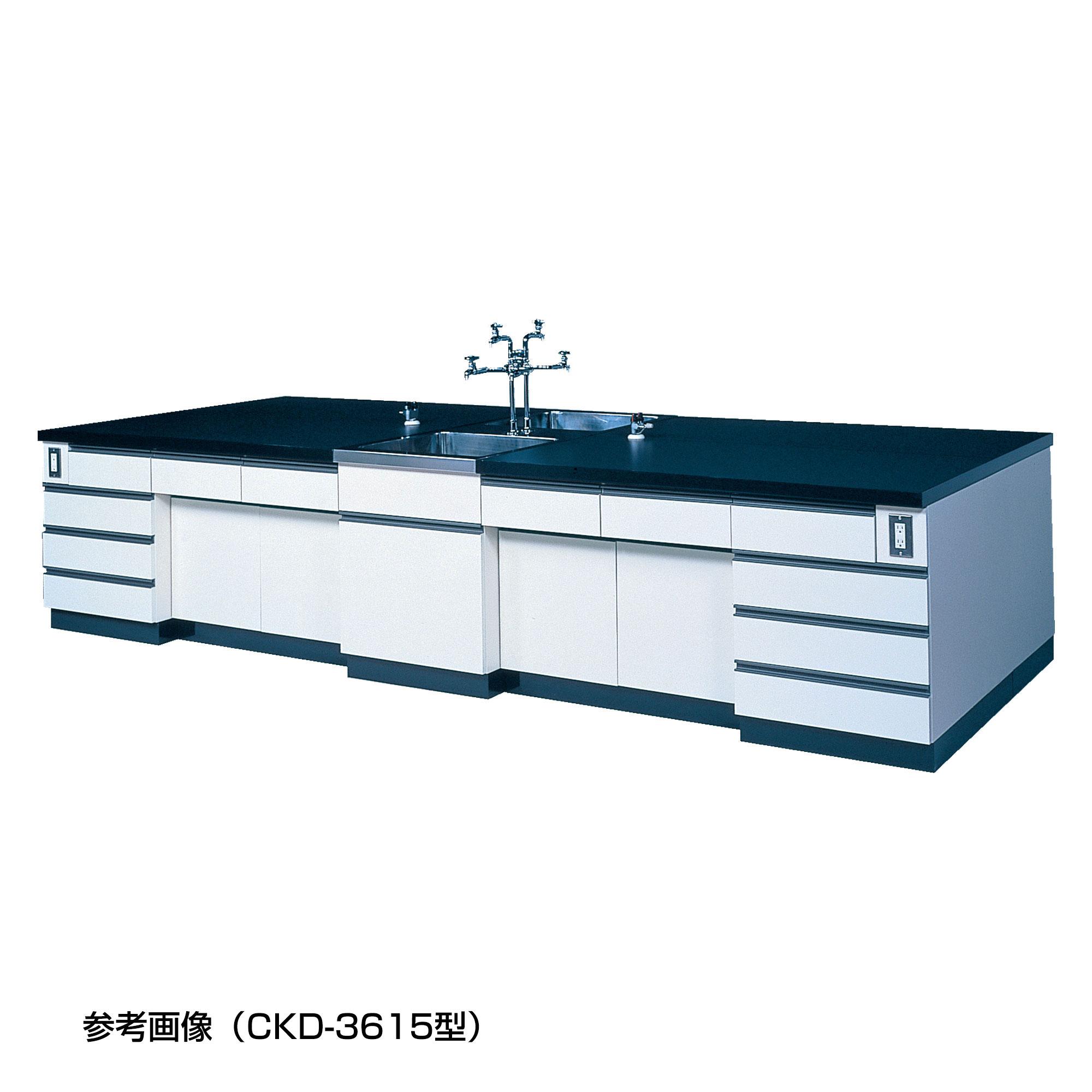 中央実験台 CKDシリーズ(中央流し台付)