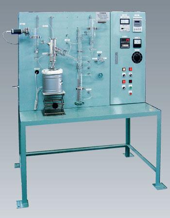 石油製品減圧蒸留装置 AD-11型 ASTM  D-1160準拠