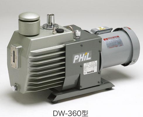 油回転式真空ポンプ DW型