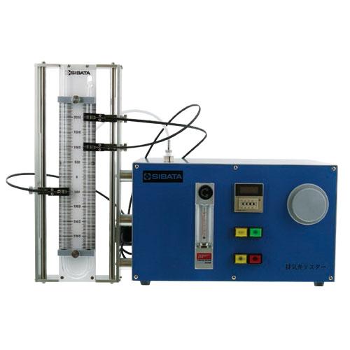 排気弁作動気密試験装置