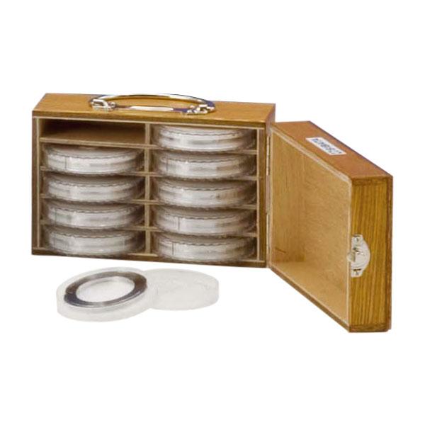 アスベスト用ろ紙クリップ φ47mm メンブレンフィルター用 10組 箱入