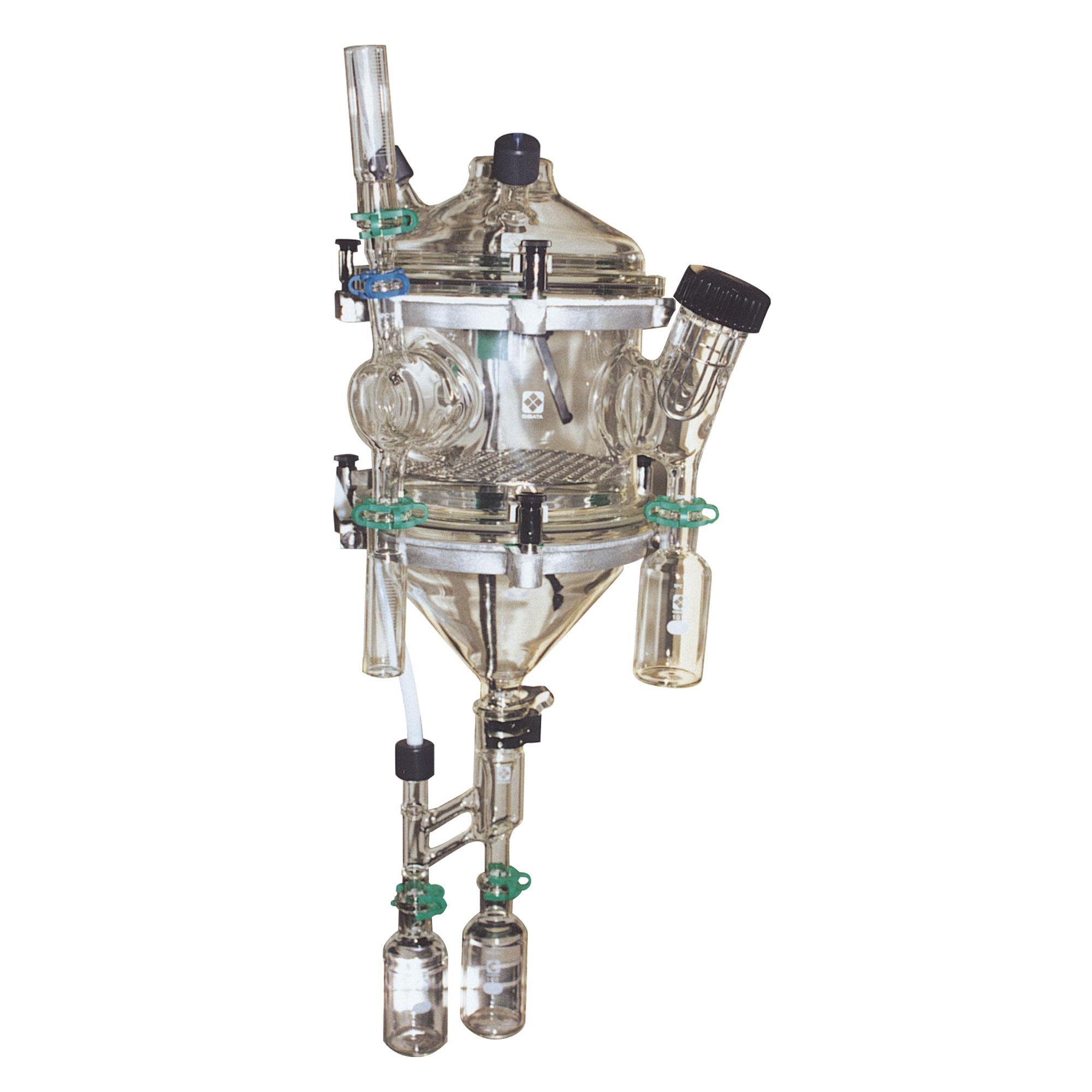 有機溶剤ガスばく露代謝実験装置