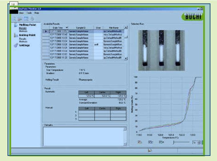 融点測定器M-565用モニターソフトウェア #11055332