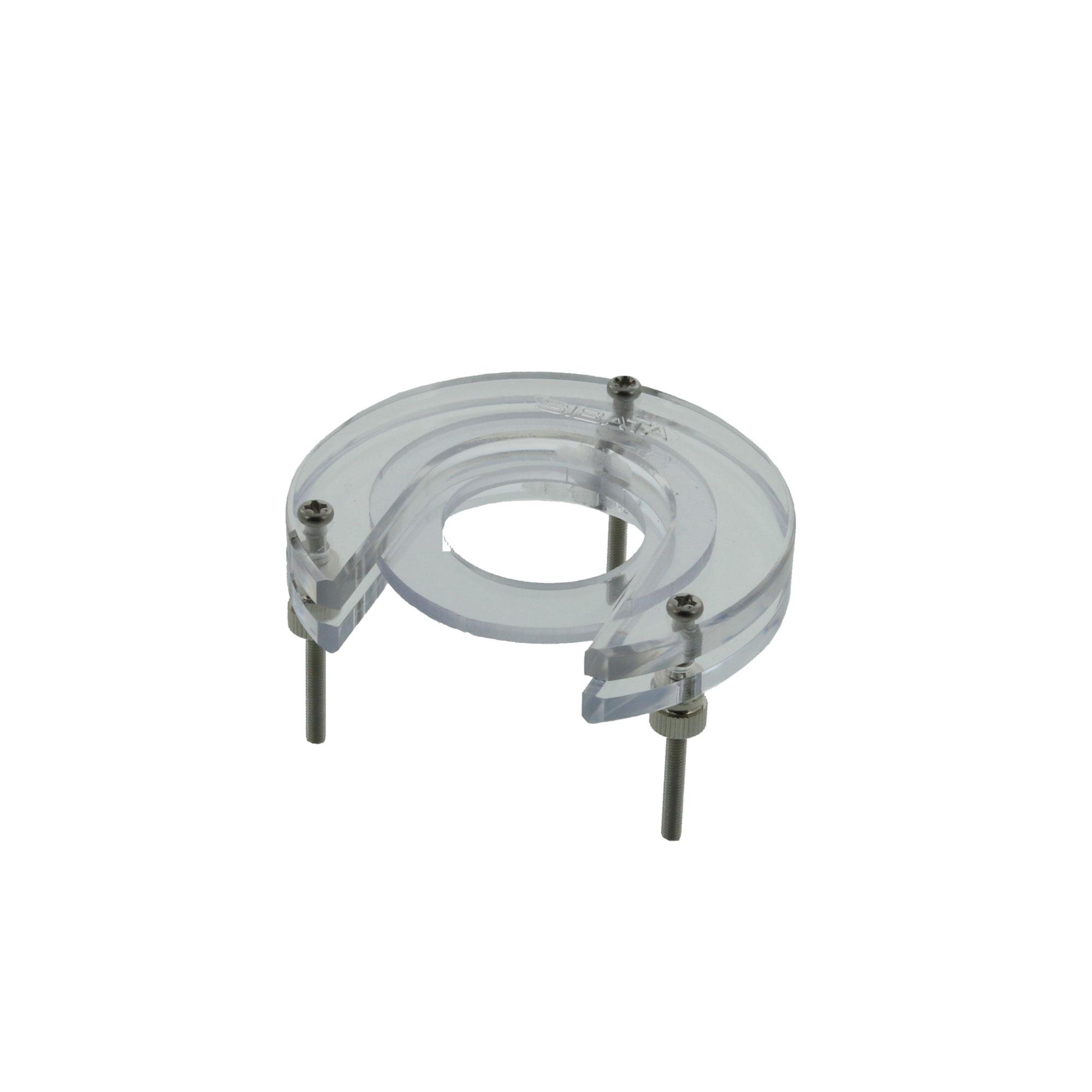 クランプ自動ビュレット用(平面接続用) ビニールパッキン付