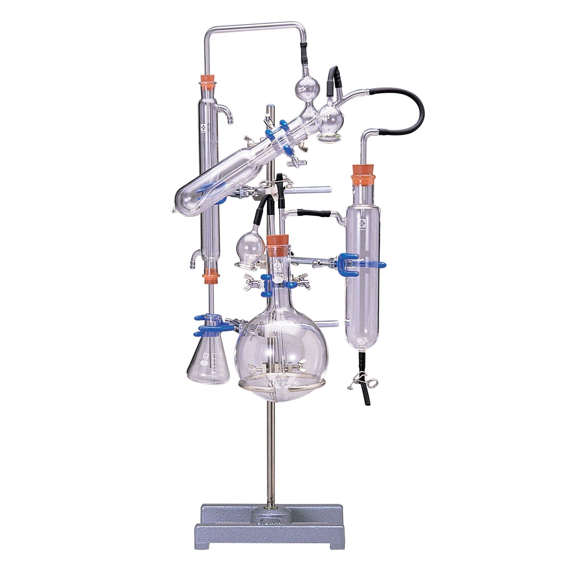 ミクロ・ケルダール窒素蒸留装置 パルナス-ワグナー型用 真空びん