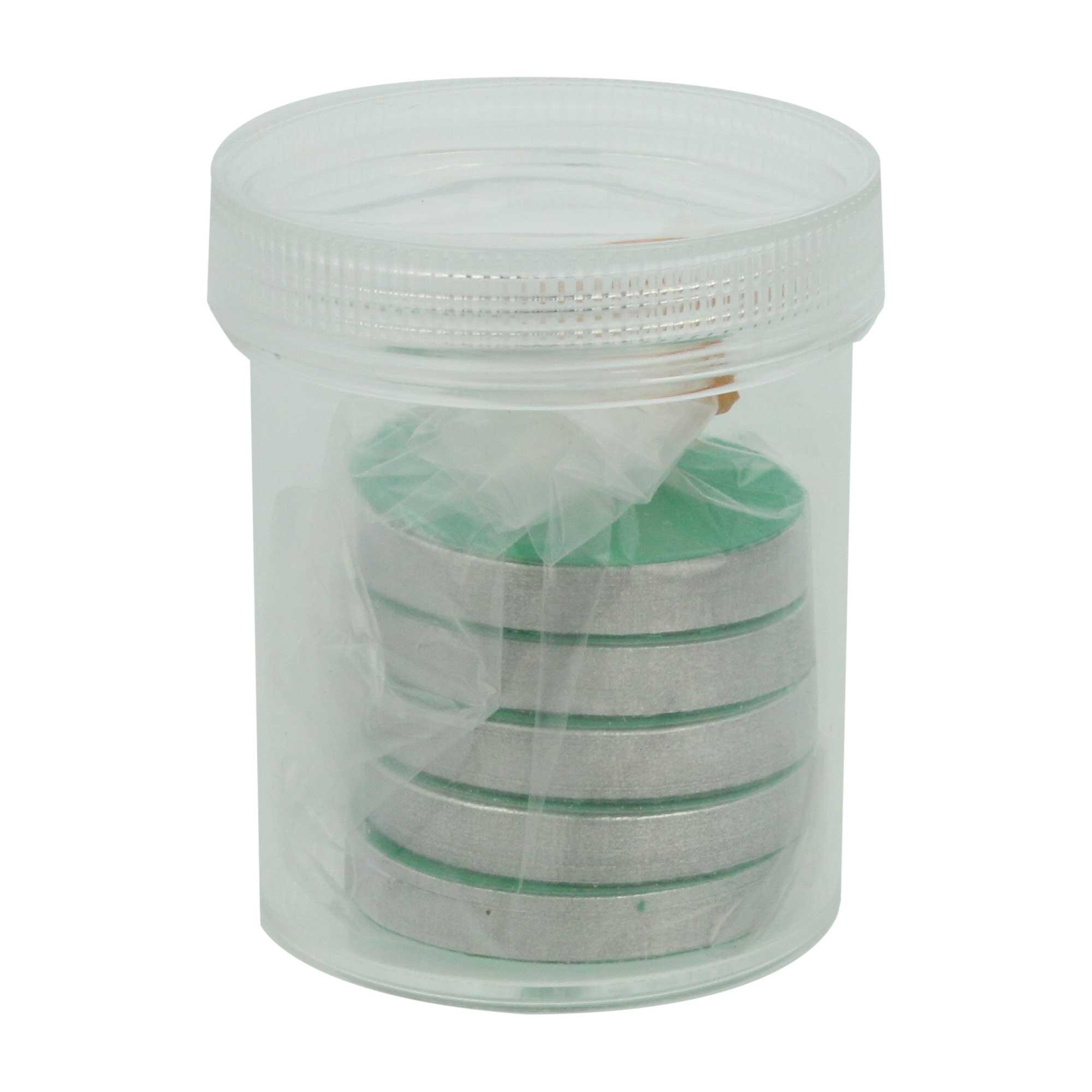 コンウェイ水分活性測定器用 アルミ箔 (500枚入) 活性表付