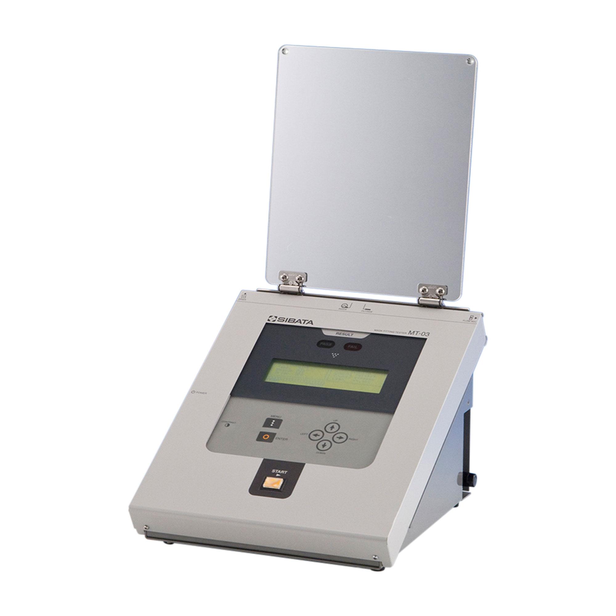 販売中止:労研式マスクフィッティングテスター MT-03型(後継:MT-05U型)