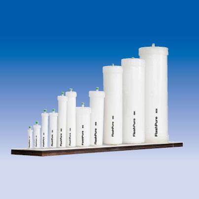 中圧分取用カートリッジ FlashPure® EcoFlex / 破砕状 40-63(μm) シリカゲル