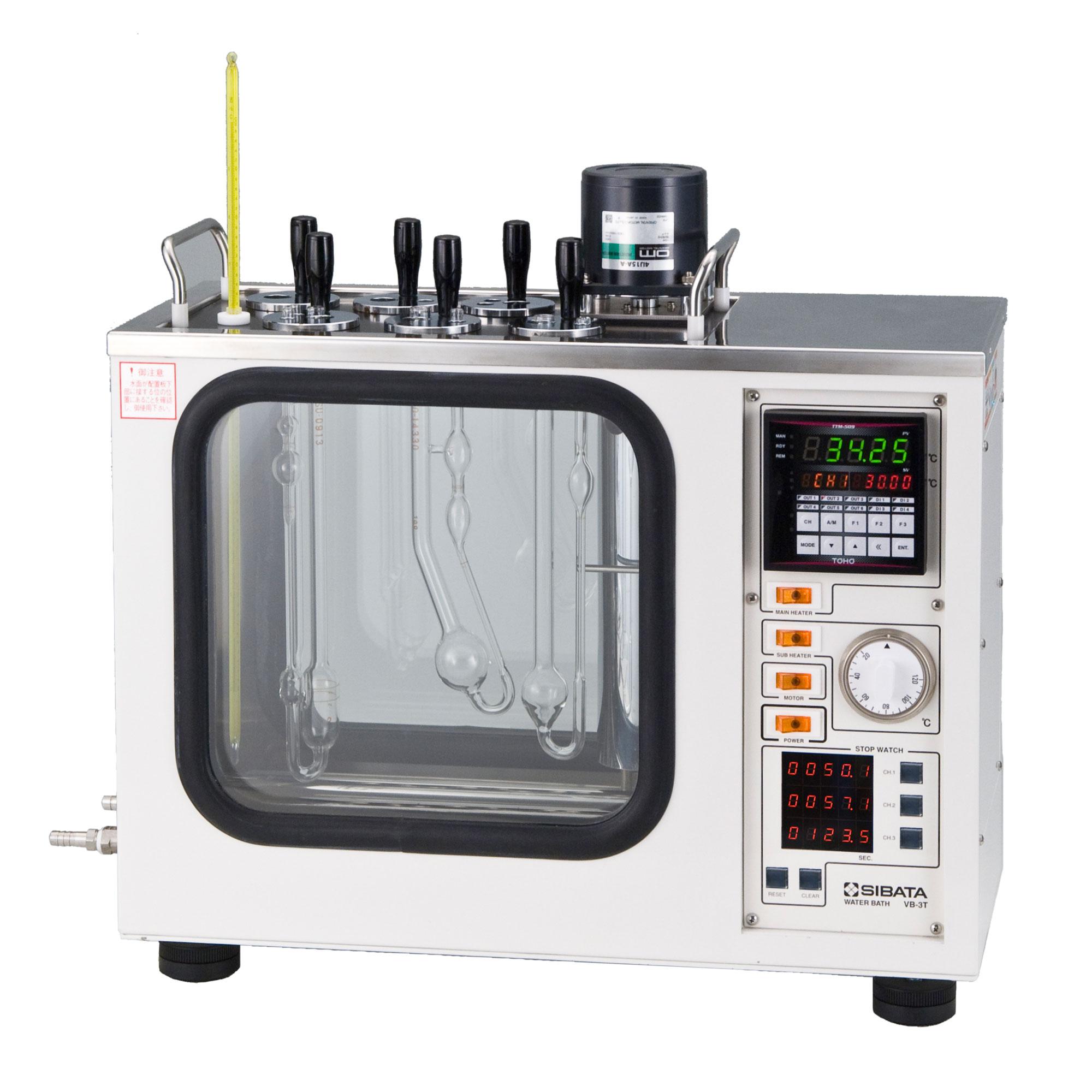 粘度計用恒温水槽 VB-3T型