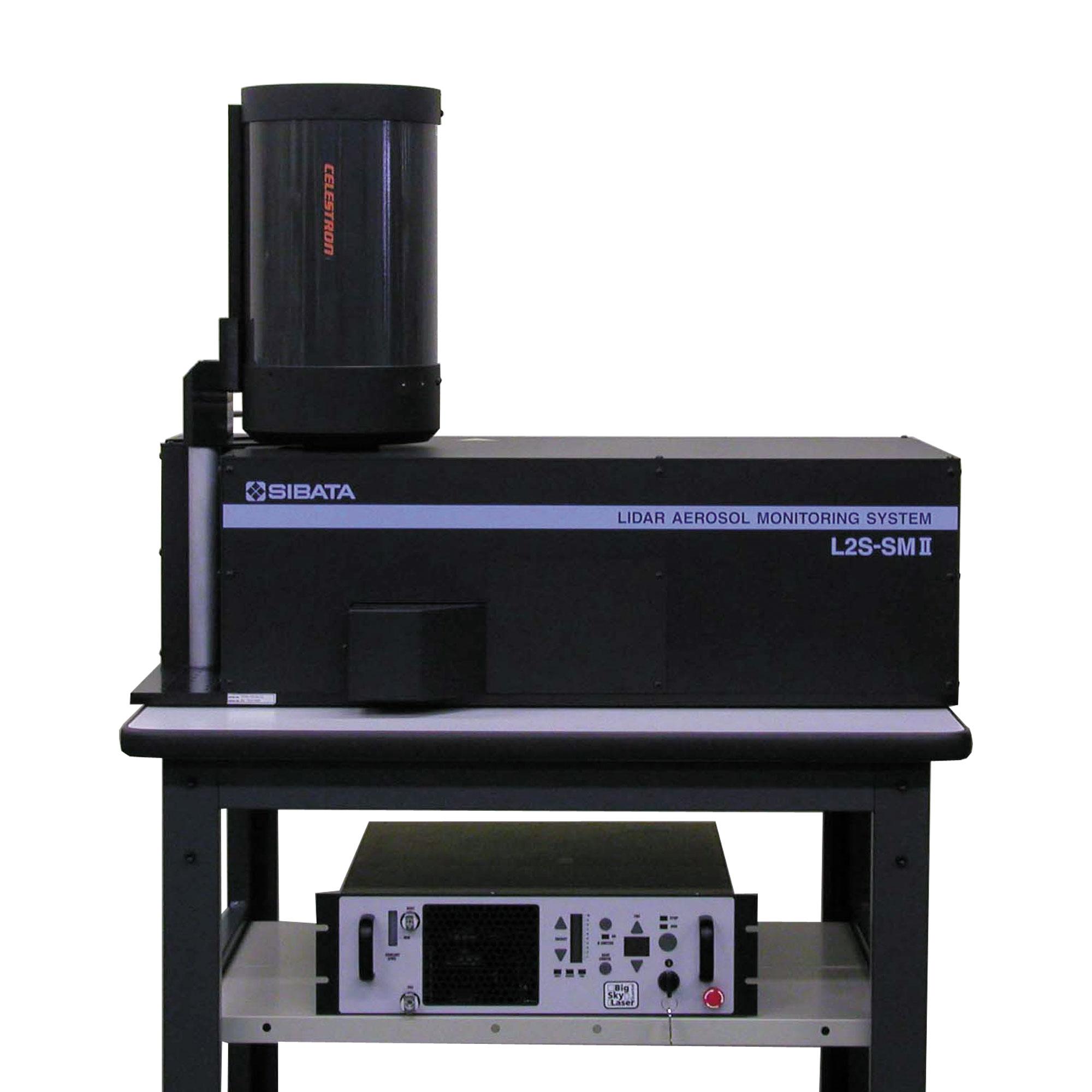 ライダーエアロゾルモニタリングシステム L2S-SM II型