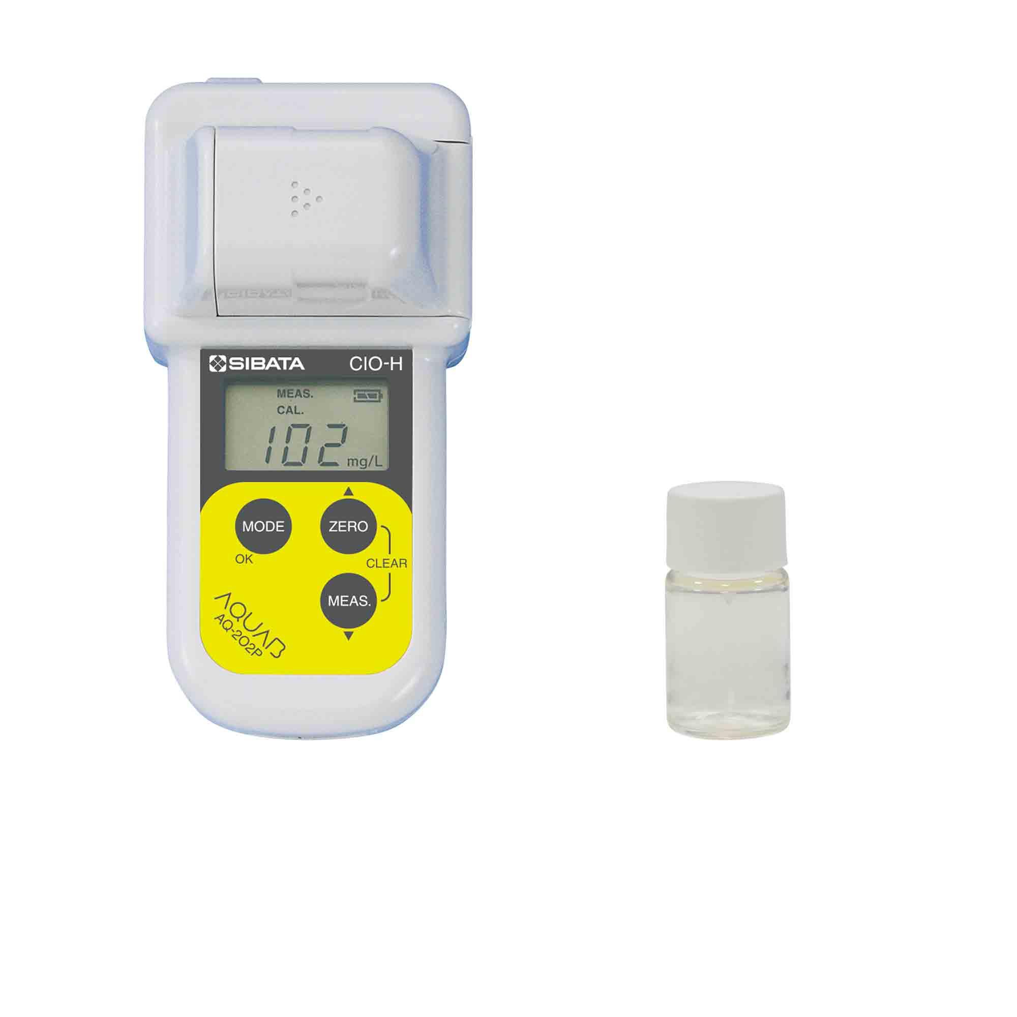 有効塩素濃度測定キット(食品衛生管理対策用) AQ-202P型 試薬付