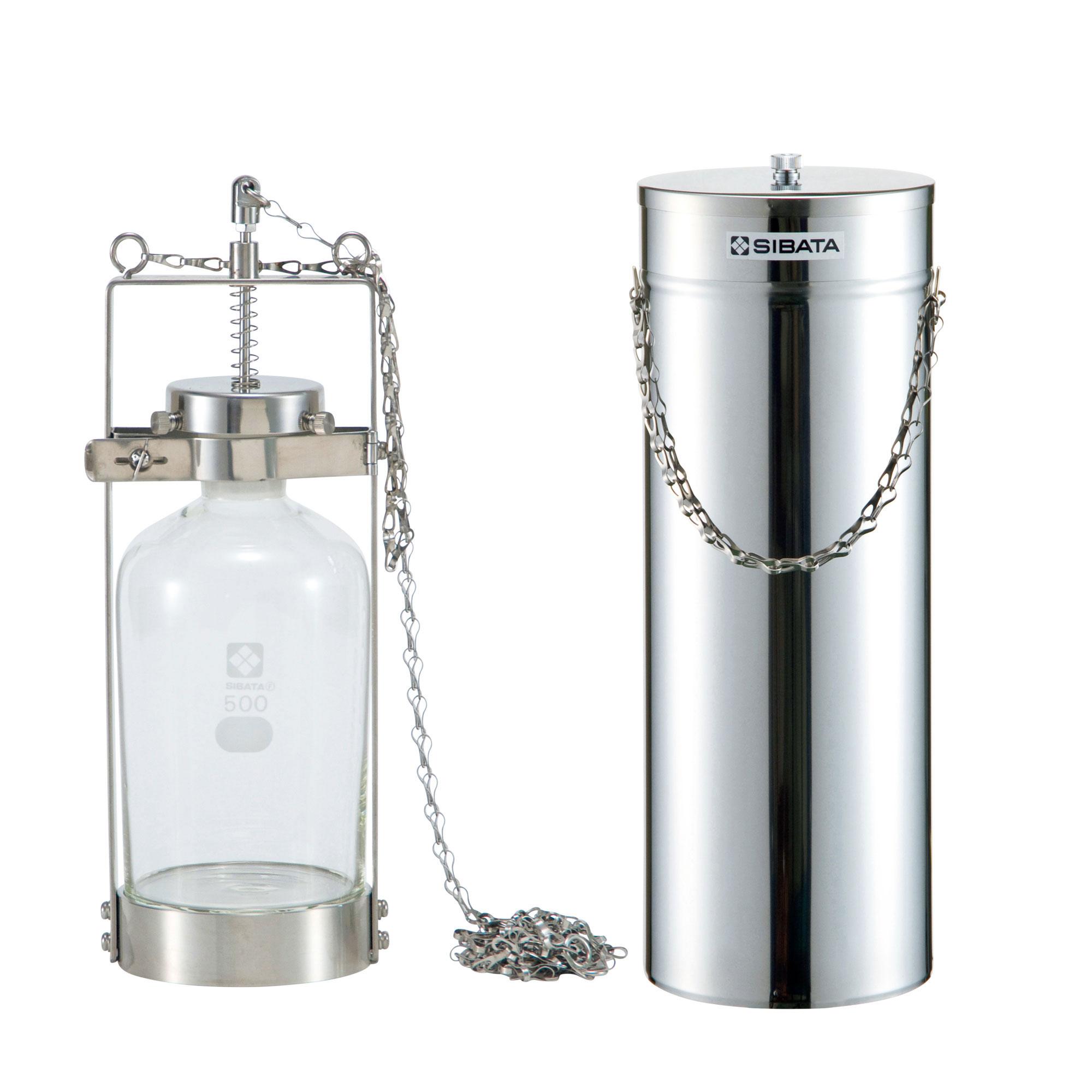 ハイロート採水器セット(金具、ステンレス容器付)